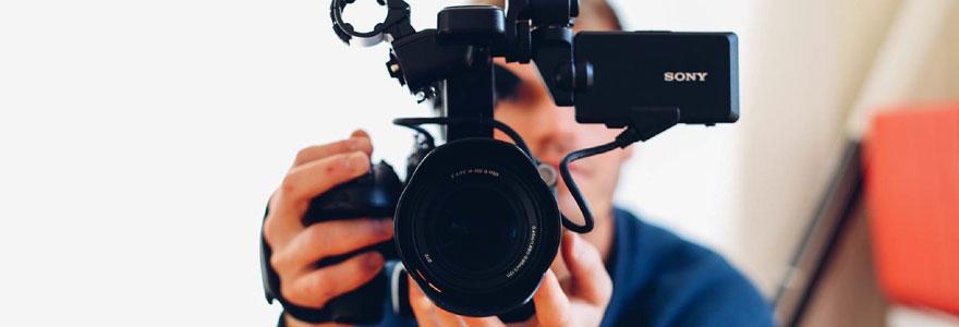 Caméra numérique pour des vidéos Youtube