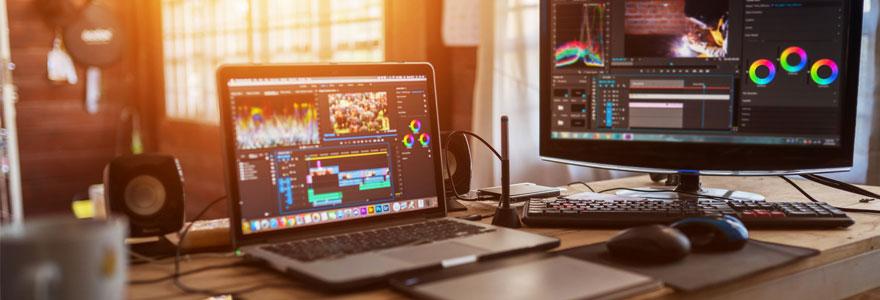 production de contenus vidéo